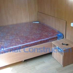 Кровать двухспальная из ЛДСП